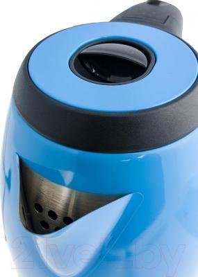 Электрочайник Kitfort KT-602 (голубой)
