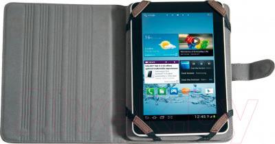 Чехол для планшета Defender Velvet uni 26059 (коричневый) - пример использования