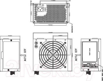 Блок питания для компьютера FSP FSP400-60HCN