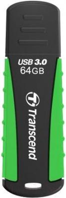 Usb flash накопитель Transcend JetFlash 810 Black-Green 64GB (TS64GJF810)