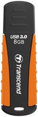 Usb flash накопитель Transcend JetFlash 810 Black-Orange 8GB (TS8GJF810)