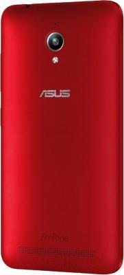 Смартфон Asus Zenfone Go / ZC500TG-1C090RU (красный)