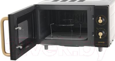 Микроволновая печь Gorenje MO4250CLB - с открытой дверцей 2