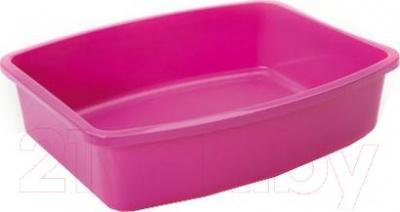 Туалет-лоток Savic Oval Tray 02170000 (розовый) - общий вид