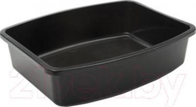 Туалет-лоток Savic Oval Tray 02170000 (черный) - общий вид