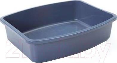 Туалет-лоток Savic Oval Tray 02170000 (серый) - общий вид