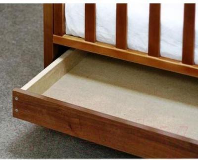 Детская кроватка Верес Соня ЛД9 09.03 (орех) - ящик под кроваткой