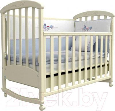 Детская кроватка Верес Соня ЛД9 09.04 (слоновая кость)