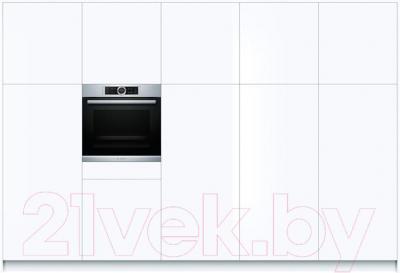 Электрический духовой шкаф Bosch HBG6730S1
