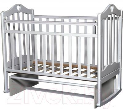 Детская кроватка Антел Каролина-3 (белый)
