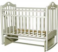 Детская кроватка Антел Каролина-3 (слоновая кость) -