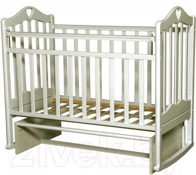 Детская кроватка Антел Каролина-3 (слоновая кость)