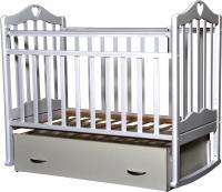 Детская кроватка Антел Каролина-4 (белый) -