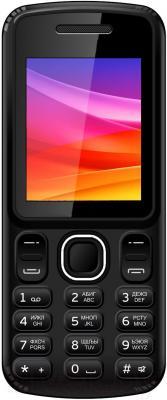 Мобильный телефон Vertex M101 (черно-оранжевый)