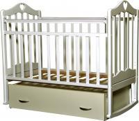 Детская кроватка Антел Каролина-4 (слоновая кость) -