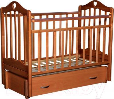 Детская кроватка Антел Каролина-6 (бук)