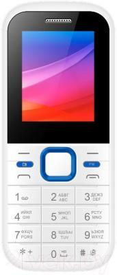 Мобильный телефон Vertex M102 (бело-синий)