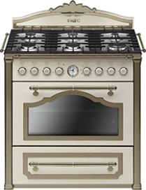 Кухонная плита Smeg CC9GPO - общий вид