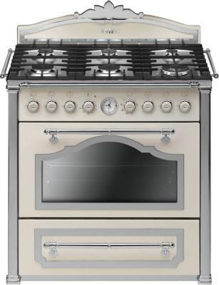 Кухонная плита Smeg CC9GPX - общий вид