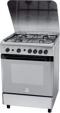 Кухонная плита Indesit KN6G21S(X)/RO - общий вид