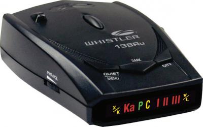Радар-детектор Whistler WH-138RU - общий вид