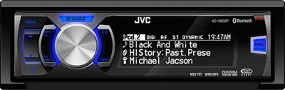 Автомагнитола JVC KD-R50EYD - общий вид