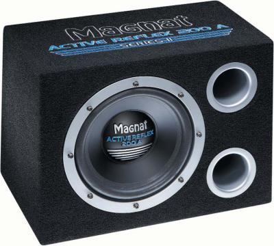 Корпусной активный сабвуфер Magnat Active Reflex 200A Series II - общий вид