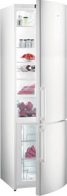 Холодильник с морозильником Gorenje NRK6200KW - общий вид