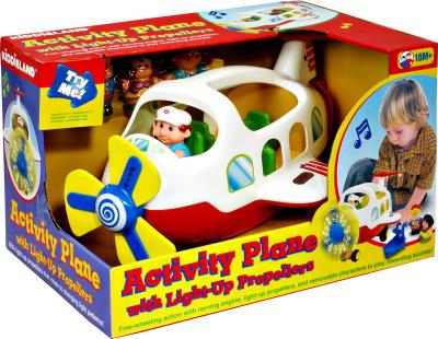 Развивающая игрушка Kiddieland Самолет со светом (039289) - общий вид