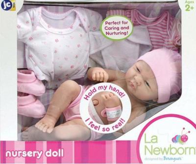 Кукла-младенец JC Toys Пупс подарочный (18543) - серьезное выражение лица