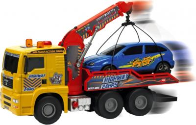 Функциональная игрушка Dickie Эвакуатор с пневмонасосом (3415778) - в движении