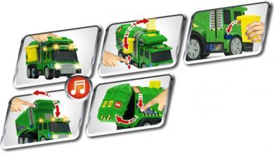 Функциональная игрушка Dickie Мусоровоз (3418335) - функциональность