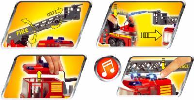 Функциональная игрушка Dickie Машина пожарная (3443997) - функциональность