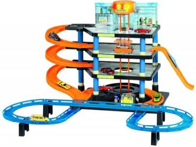 Игровой набор Dickie Паркинг 4 этажа с лифтом и звуком (3608327) - общий вид (машинки в комплект не входят)
