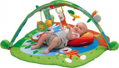 Развивающий коврик Chicco Центр игровой Play pad - ребенок на коврике
