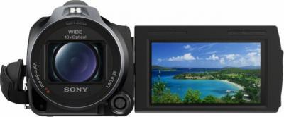 Видеокамера Sony HDR-CX740 - вид спереди