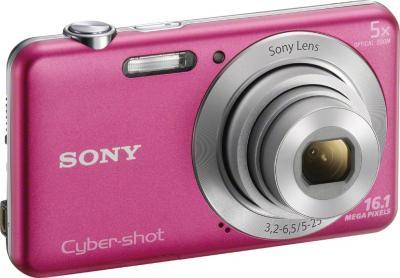 Компактный фотоаппарат Sony Cyber-shot DSC-W710 (Pink) - общий вид