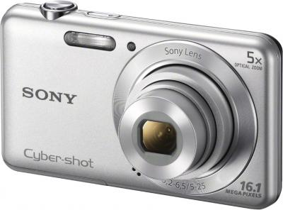Компактный фотоаппарат Sony Cyber-shot DSC-W710 (Silver) - общий вид