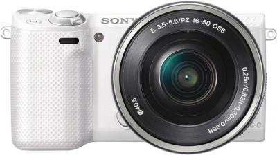 Беззеркальный фотоаппарат Sony NEX-5RL White - общий вид