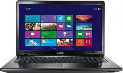 Ноутбук Samsung 350E7C (NP350E7C-S03RU) - фронтальный вид