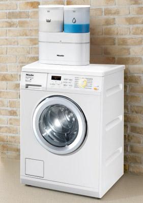 Стиральная машина Miele W 5967 WPS Eco Comfort - в интерьере с дозатором