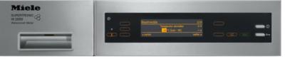 Стиральная машина Miele W 2859 iR WPM - панель управления
