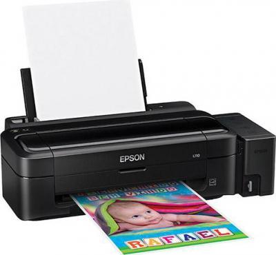 Принтер Epson L110 - общий вид (печать)