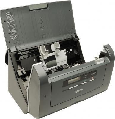 Протяжный сканер Epson GT-S55 - изнутри
