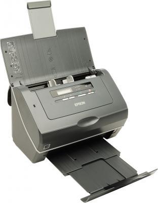 Протяжный сканер Epson GT-S55 - общий вид (раскрытый)
