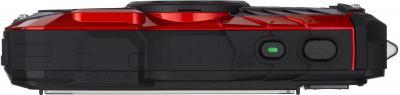 Компактный фотоаппарат Pentax Optio WG-2 (Red-Black) - вид сверху