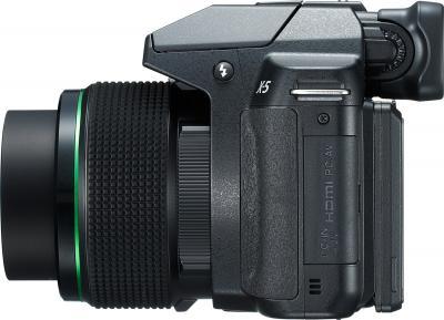 Компактный фотоаппарат Pentax X-5 (Black) - вид сбоку