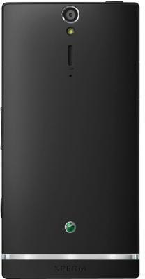 Смартфон Sony Xperia SL (LT26ii) Black - задняя панель