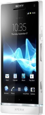 Смартфон Sony Xperia SL (LT26ii) White - полубоком