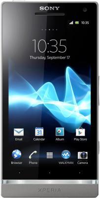 Смартфон Sony Xperia SL (LT26ii) Dark Silver - общий вид